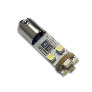 LED H6W Lamp PL-BA9S-8-1210SMD Canbus